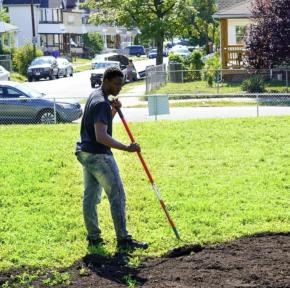 Preparing new garden beds