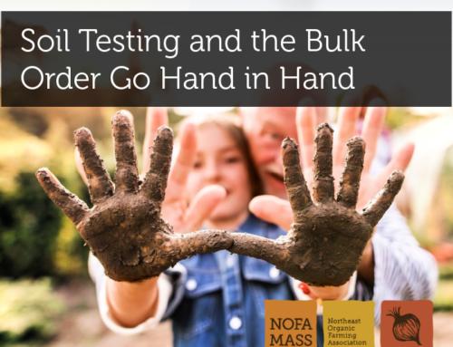 Soil Testing and the Bulk Order Go Hand in Hand