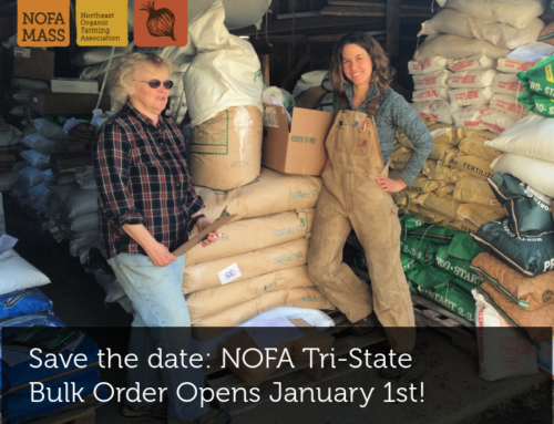 Save the date: NOFA Tri-State Bulk Order Opens January 1st!