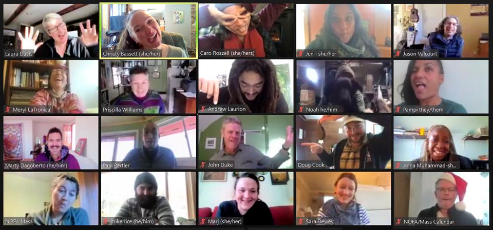 2020 Virtual Staff Meeting