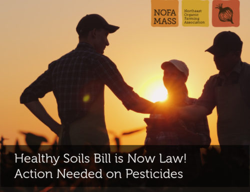 Healthy Soils Bill is Now Law! Action Needed on Pesticides