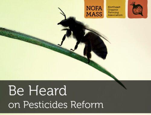 Be Heard on Pesticides Reform