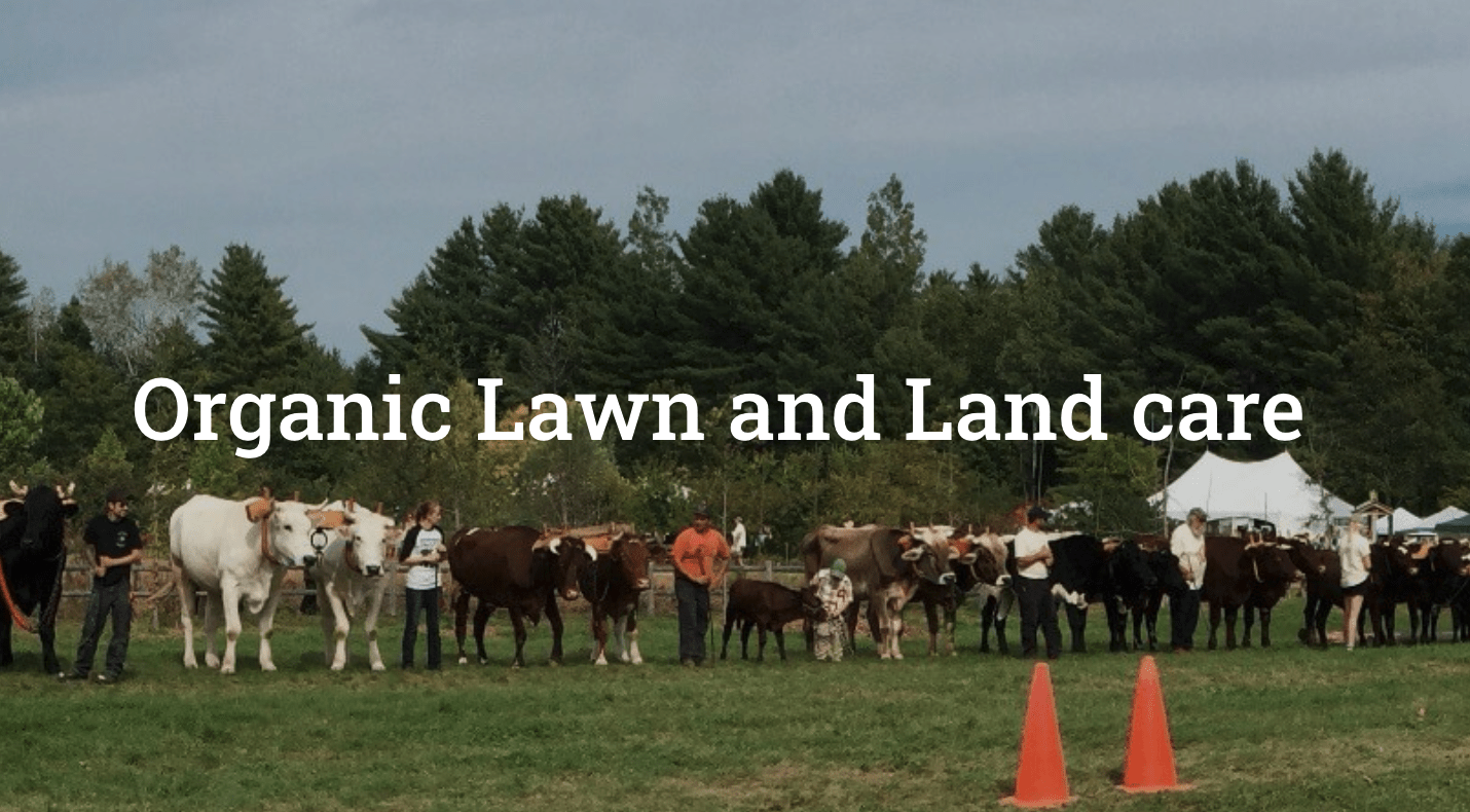 Organic lawn and land care